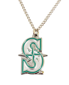 Seattle Mariners Logo Necklace