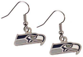 Seattle Seahawks Logo Earrings
