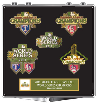 St. Louis Cardinals 2011 World Series Champs 5 Pin Set