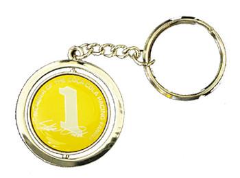 Steve Park #1 Spinner Key Chain