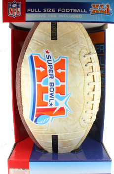 "Super Bowl XLI (41) ""Road To"" Embossed Commemorative Football"