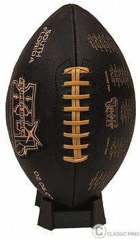 "Super Bowl XLI (41) ""Road To"" Embroidered Commemorative Football"