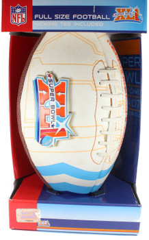 "Super Bowl XLI (41) ""Road To"" Medallion Commemorative Football"