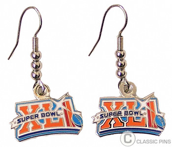 Super Bowl XLI (41) Earrings