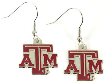 Texas A&M Earrings