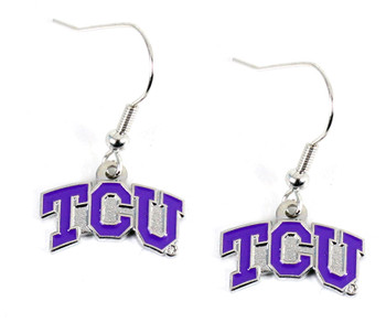 Texas Christian Earring