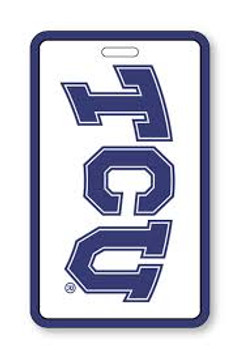 Texas Christian Luggage Tag