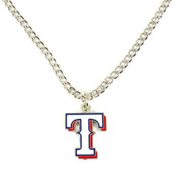 Texas Rangers Logo Necklace