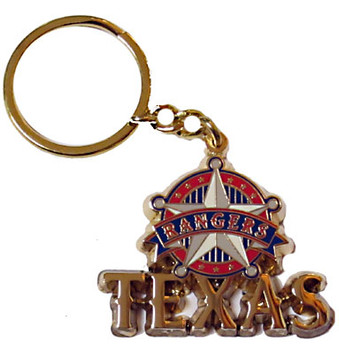 Texas Rangers Star Key Chain