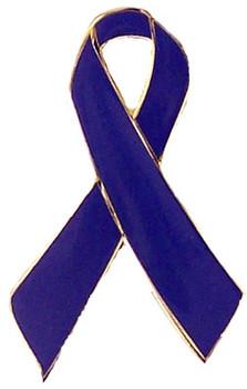 Blue Ribbon Awareness Pin