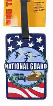 United States National Guard Luggage Tag