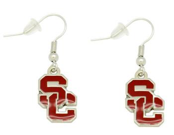 USC College Logo Earrings
