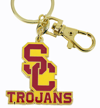 USC Trojans Key Chain