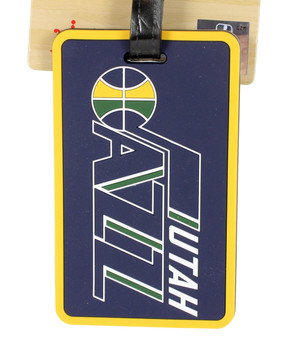 Utah Jazz Luggage Bag Tag
