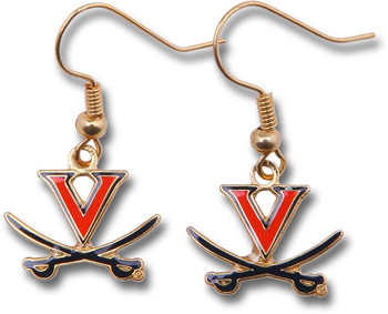 Virginia College Logo Earrings