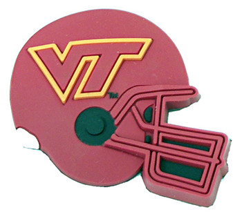 Virginia Tech Helmet Magnet