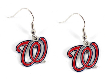 washington nationals earrings