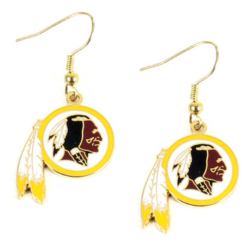 Washington Redskins Earrings