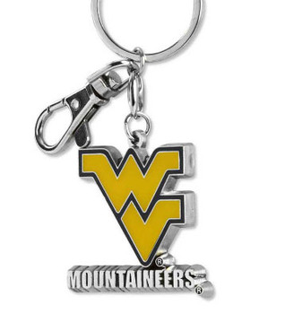 West Virginia Key Chain