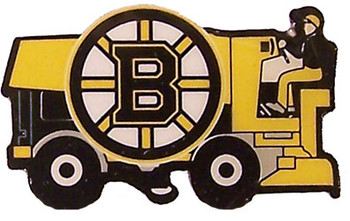 Boston Bruins Zamboni Pin