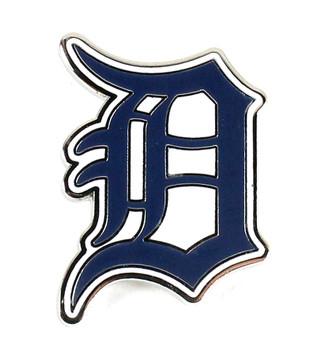 Detroit Tigers Logo Pin