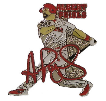 Albert Pujols Los Angeles Angels Action Pin