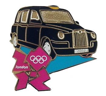 London 2012 Olympics London Taxi Pin