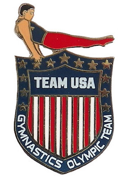Team USA Gymnastics Crest Pin