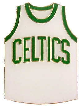 Boston Celtics Jersey Pin