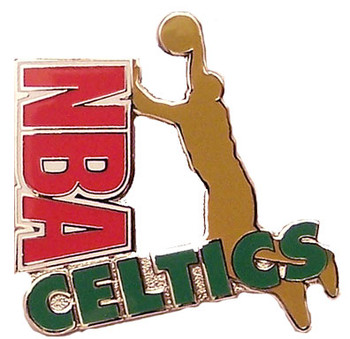 Boston Celtics NBA Dunk Pin