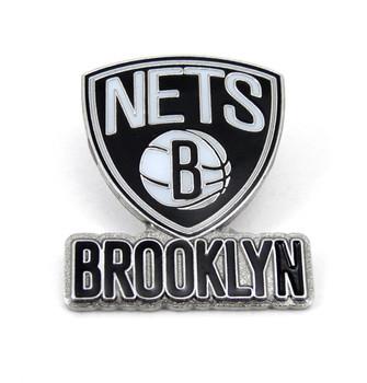 Brooklyn Nets Logo Pin