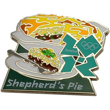 London 2012 Olympics Shepard's Pie Pin