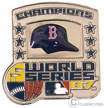Boston Red Sox 2007 World Series Champs Pin #2