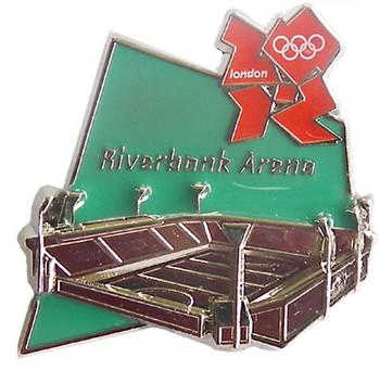London 2012 Olympics Riverbank Arena Pin