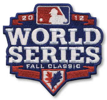 2012 MLB World Series Patch