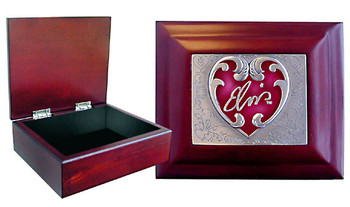 Elvis Presley Wood Collector's Box