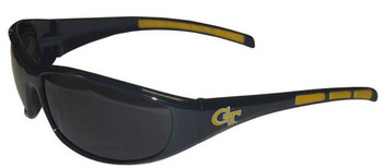 Georgia Tech Sunglasses - Wrap Style