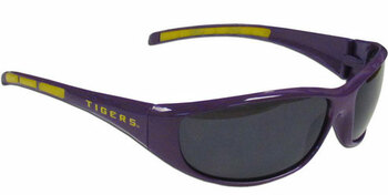 LSU Tigers Sunglasses - Wrap Style