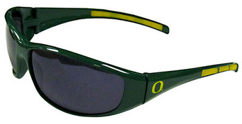 Oregon Ducks Sunglasses - Wrap Style