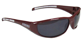 Texas A&M Sunglasses - Wrap Style