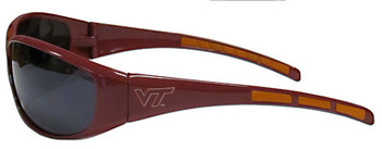 Virginia Tech Sunglasses - Wrap Style