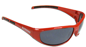 Wisconsin Badgers Sunglasses - Wrap Style
