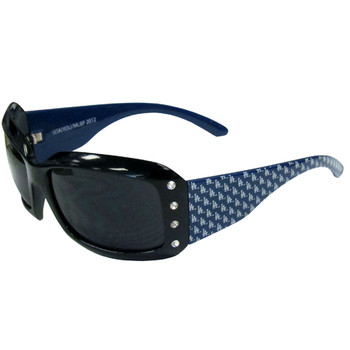 Los Angeles Dodgers Women's Designer Sunglasses w/ Rhinestones