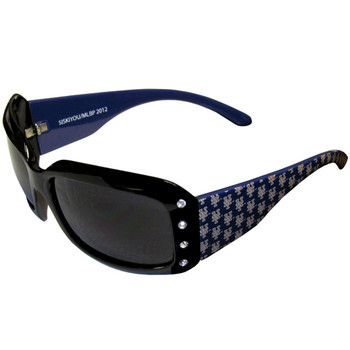 New York Mets Women's Designer Sunglasses w/ Rhinestones