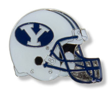 Brigham Young Football Helmet Pin