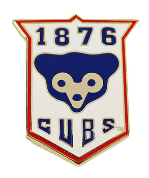 Chicago Cubs 1876 Vintage Logo Pin