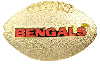 Cincinnati Bengals 3-D Ball Pin