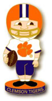 Clemson Football Bobble Head Pin