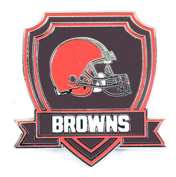 Cleveland Browns Crest Pin