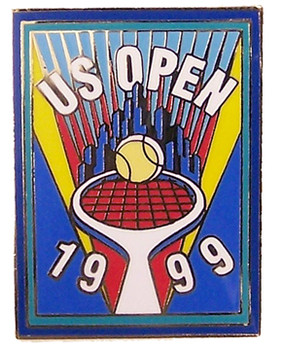 1999 US Open Tennis Icon Pin